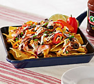 Corkys BBQ 2lb Pulled Pork & Chicken Nacho Kit w/ White Cheese Sauce - M50381