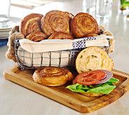 SH6/26 Rastelli Market Fresh (28) 3.2 oz Croissant Pretzel Rolls - M54781