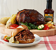 Corkys BBQ 4.5 lb. BBQ Seasoned Boston Butt with Sauce - M55181