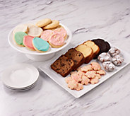 Cheryls 55-Piece Easter Bakery Sampler - M58281