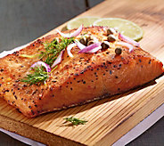 Kansas City Steak Company (4) 7oz Wild-Caught Sockeye Salmon - M116582