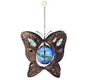 Plow & Hearth Glowing Butterfly Spinner - M29782