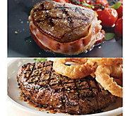 Kansas City Bacon Wrapped Filet Mignon/Strip Steaks - M34782