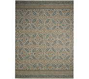 ED On Air 8x10 Medallion Pattern Outdoor Rug by Ellen DeGeneres - M49582