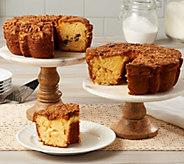 My Grandmas (2) 28 oz. Lemon Coconut & Cinnamon Walnut Coffee Cakes - M55082