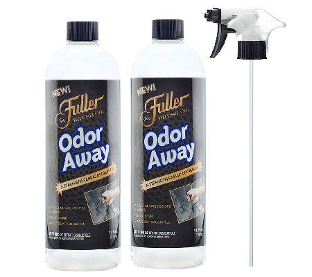 fuller brushn set of 2 odor away with sprayer m102383. Black Bedroom Furniture Sets. Home Design Ideas