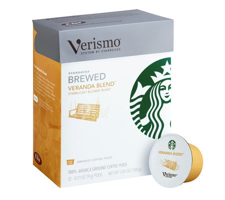 Starbucks Verismo Veranda Coffee Pods - 72-pc - M113483 ...