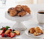Ships 12/5 Authentic Gourmet (60) Mini Butter & Choc. Croissant - M51283