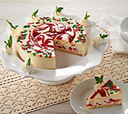 Juniors 3 lb. Christmas Swirl Cheesecake - M51483