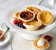 Biti Pies 16 Homemade Buttermilk & Pecan Individual Pies - M57883