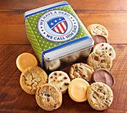 Cheryls Fathers Day Hero Dad 12-Piece CookieTin - M115784