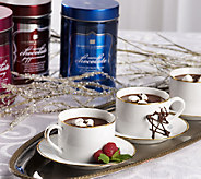 Harry London (3) 10 oz. Hot Drinking Chocolates in Holiday Tins - M42684