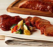 Corkys BBQ (6) 1.25 lb. Hickory Smoked Pork Tenderloins - M44384