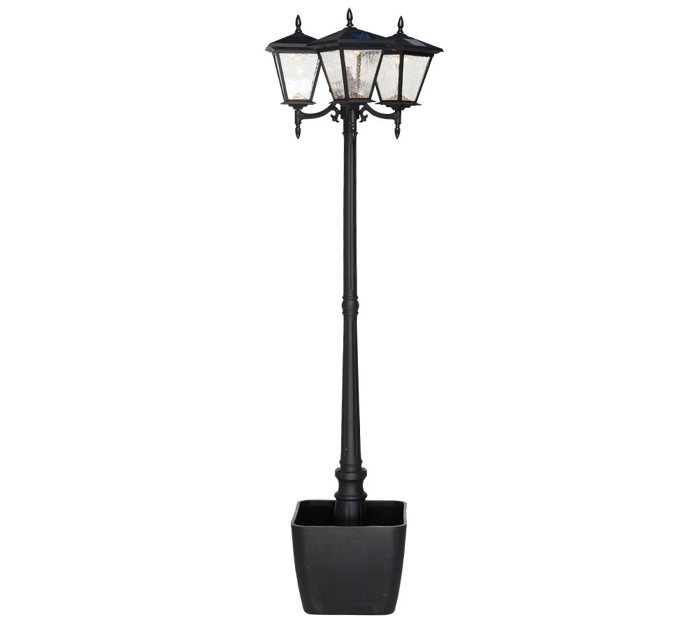 Energizer Solar 3-Head Lamp Post w/ Detachable Planter - Page 1 ...