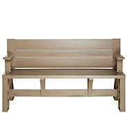 Ships 5/22/17 Convert-A-Bench Basic Color Outdoor 2-in-1 Bench-to-Table - M54884