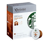 Starbucks Verismo House Blend Coffee Pods - 72-pc - M113485