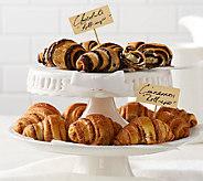 Mamas Pastries (30) 1.35 oz. Chocolate and Cinnamon Mini Roll-ups - M45785