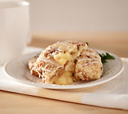 Worlds Fare Foods (16) 3oz. Fruit Filled Scones with Streusal Top - M49585