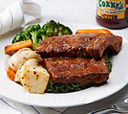 Ships 12/12 Corkys BBQ (5) 1 lb. Baby Back Ribs with 18 oz BBQ Sauce - M53685