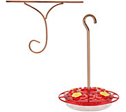 Ultimate Innovations Hummingbird Feeder & Window Hook - M55585