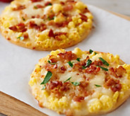 Real Good Food Company (12) 5 Parmesan Chicken Crust Breakfast Pizza - M55985