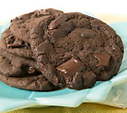 Davids Cookies 2-lb Fresh Baked Double Chocolate Cookies - M116486