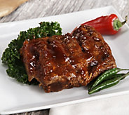 Bubbas Q (4) 18 oz. & (1) 10 oz. De-Boned Baby Back Rib Steaks - M50986