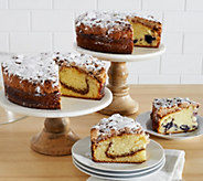 Jimmy the Baker (2) 2.2 lb. Cinnamon or Blueberry Crumb Cakes - M52386