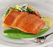 Anderson Seafoods (8) 6 oz. Alaskan Sockeye Salmon - M54086