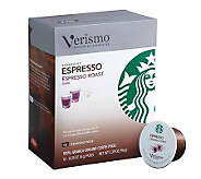 Starbucks Verismo Espresso Coffee Pods - 72-pc - M113487