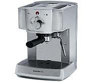 Espressione Cafe Minuetto Espresso Machine - Silver - M113987