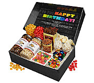 The Popcorn Factory Say it in Color - BirthdaySnackers Box - M114487