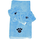 Pamper Your Pet Microfiber Towel & Mitt Set byCampanelli - M115687