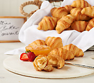 Authentic Gourmet (40) Mini French Butter Croissants - M44987
