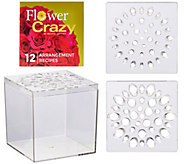 Flower Crazy Square Floral Arranger with Design Booklet - M50787