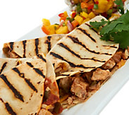 Davios (18) 4 oz. Steak, Chicken, or Combo Quesadillas - M54287