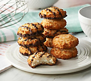 Ships 12/4 Poppies 48 Coconut & Choc Coconut Macaroons - M57087