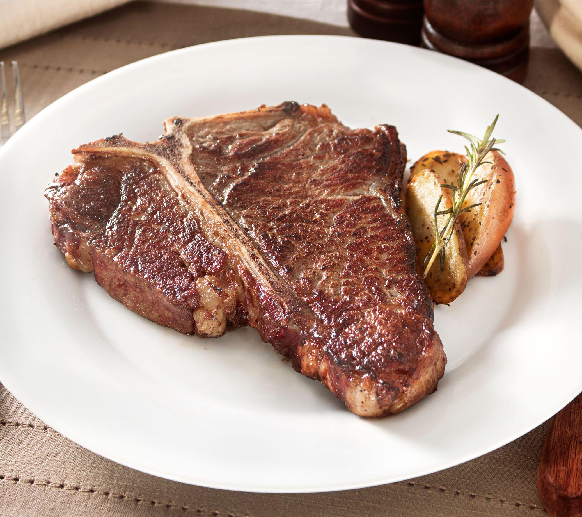 Blue apron qvc - Rastelli Market Fresh 4 16 Oz Black Angus Porterhouse Steak Page 1 Qvc Com