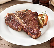 Rastelli Market Fresh (4) 16-oz Black Angus Porterhouse Steaks - M115188