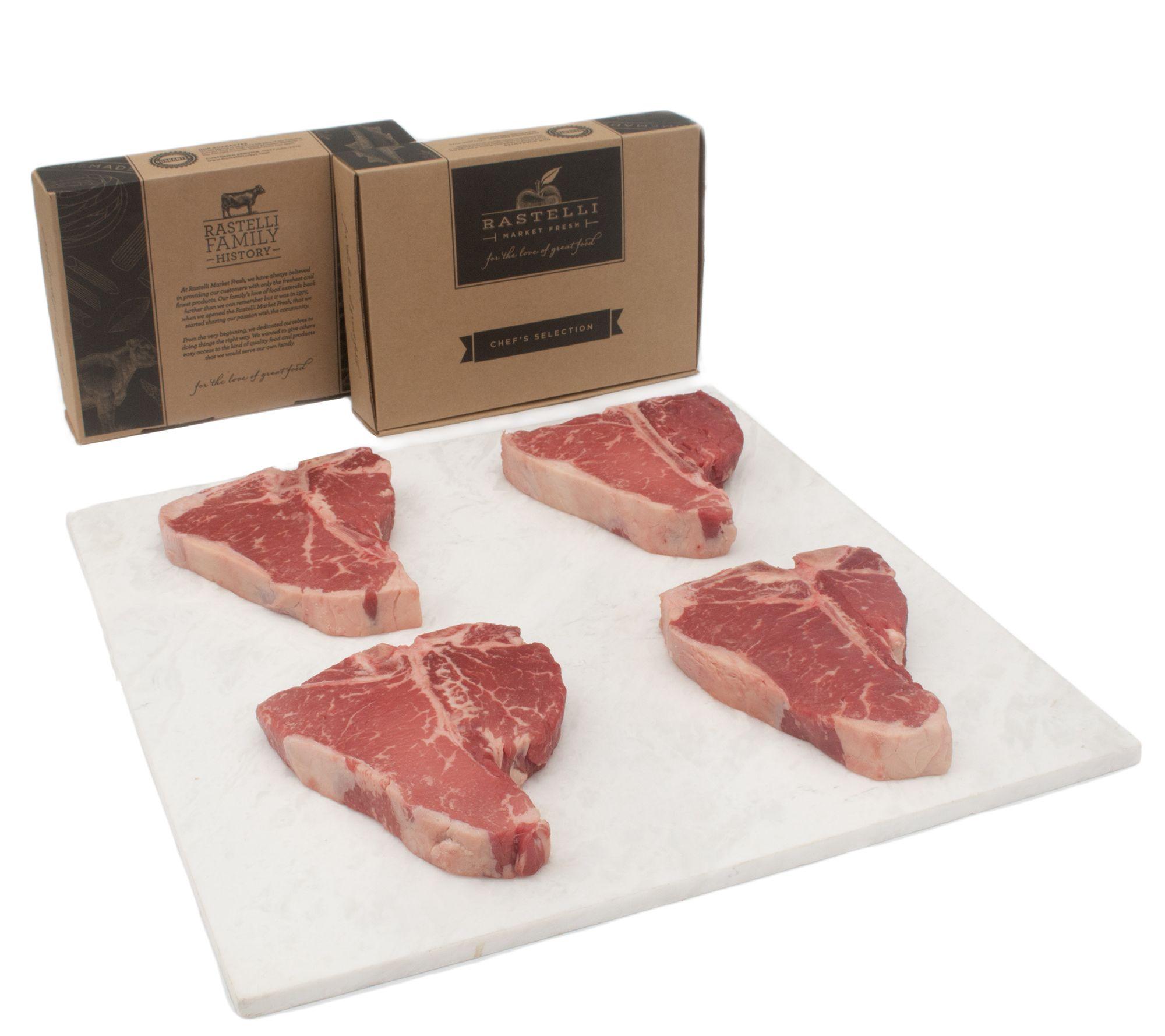 Blue apron bayonne - Rastelli Market Fresh 4 16 Oz Black Angus Porterhouse Steak Page 1 Qvc Com