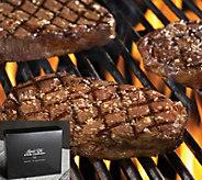 Kansas City Steak (4) 10-oz Boneless Ribeye Steaks in Gift Box - M116588