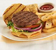 Homeland Steaks (10) 4 oz. Certified Organic Angus Burgers - M44788