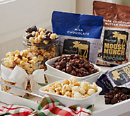 Ships 11/7 Harry & David 7lb Moose Munch Gourmet Holiday Popcorn Assort. - M51288