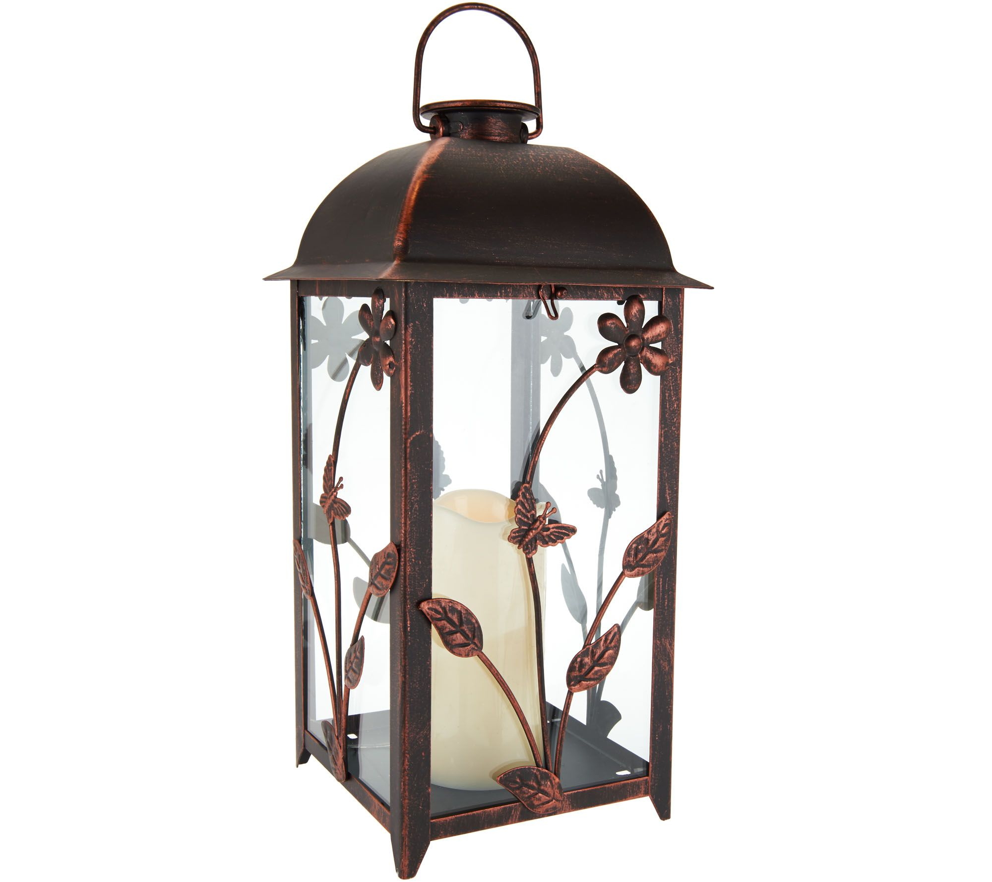 Compass Home Indoor Outdoor Solar Candle Lantern Page 1