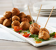 Hip Chick Farms (4) 8 oz. Boxes of Baked Chicken Meatballs - M54988