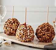 Mrs. Prindables 3-Piece Jumbo Gourmet Caramel Apple Assortment - M56088