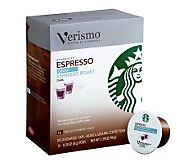 Starbucks Verismo Decaf Espresso Coffee Pods -72-pc - M113489