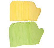 Don Asletts Multipurpose Microfiber Mittens Set of 15 - M114589