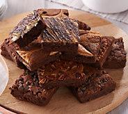 SH 12/4 Davids Cookies (18) 4-oz Gourmet Brownie Assortment - M56289