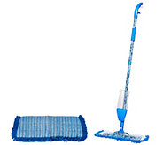 QuickMop Spray Mop with 2 Microfiber Pads by Campanelli - M115890